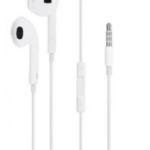 AUDIFONOS APPLE MANOS LIBRES UNIVERSALES JACK 3.5 MM EN CAJA -2259